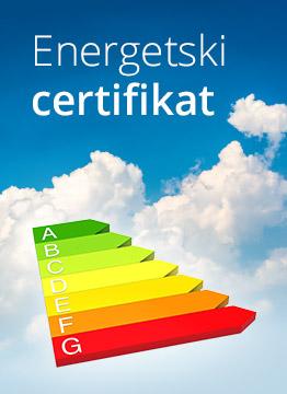 Izrada energetskog certifikata