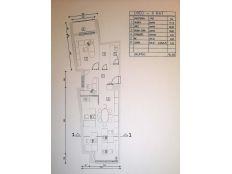 Centar,Zavrtnica,79,08 m2, 2 soban s loggiom-novija gradnja